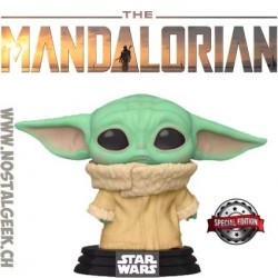 Funko Pop Star Wars The Mandalorian The Child (Concerned) Edition Limitée