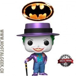 Funko Pop The Joker Batman 1989 (Metallic) Exclusive Vinyl Figure