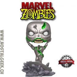 Funko Pop Marvel Zombie Silver Surfer Exclusive Vinyl Figure