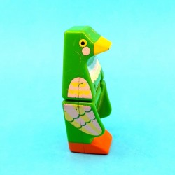Mattel 1985 DoubleDooz Double Dooz Block Parrot second hand figure (Loose)