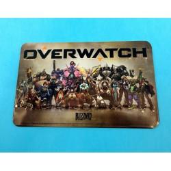 Overwatch Plaque en métal d'occasion (Loose)