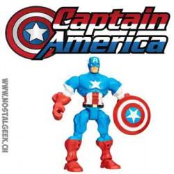Marvel Super Hero Mashers Captain America Hasbro Action Figure