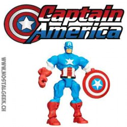 Marvel Super Hero Mashers Captain America Hasbro Action Figure