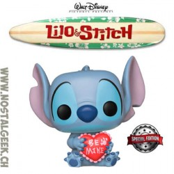 Funko Pop Disney Lilo & Stitch - Stitch Valentine Exclusive Vinyl Figure