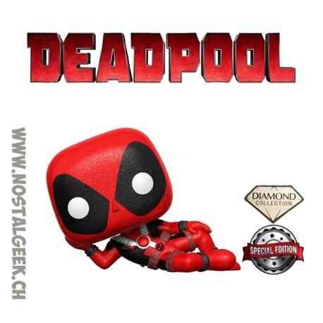 Funko Pop Marvel Deadpool (Casual) Diamond Exclusive Vinyl Figure