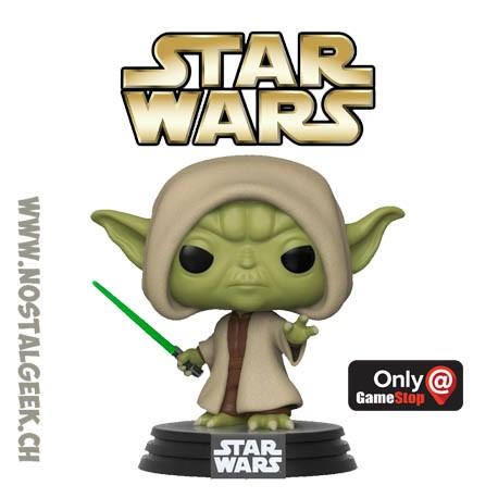 Funko Star Wars Yoda (Hooded) Exclusive Vinyl Figure