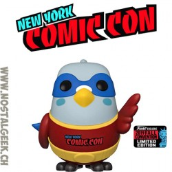 Funko Icons NYCC 2019 Paulie Pigeon (Red) Exclusive Vinyl Figure