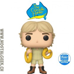Funko Pop Crocodile Hunter Steve Irwin Exclusive Vinyl Figure