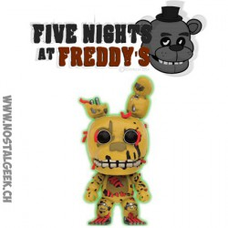 Funko Pop! Games Five Nights at Freddy's Springtrap GITD Exclusive