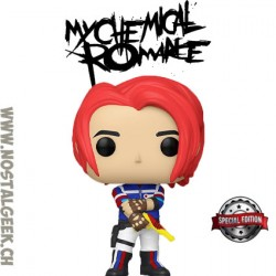 Funko Pop Rocks My Chemical Romance Danger Days Gerard Way Edition Limitée