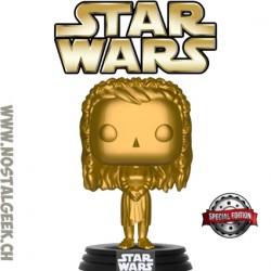 Funko Pop! Star Wars Princess Leia (Ewok Village) Gold Edition Limitée
