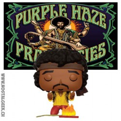 Funko Pop! Rock Jimi Hendrix Monterey Edition Limitée
