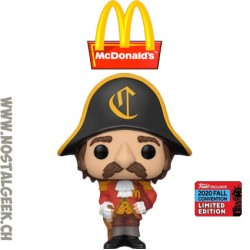 Funko Pop Ad Icons NYCC 2020 McDonald's Captain Crook Exclusive Vinyl Figure