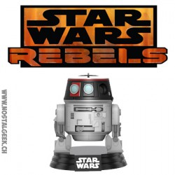 Funko Pop! Figurine Star Wars Rebels Chopper Imperial Disguise Galactic Convention 2017 Edition Limitée