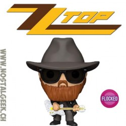 Funko Pop ZZ Top Billy Gibbons Flocked Vinyl Figure