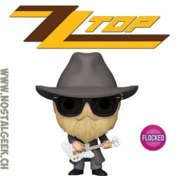 Funko Pop Rocks ZZ Top Billy Gibbons Flocked Vinyl Figure