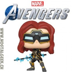 Funko Pop Games Marvel Black Widow (Avengers Game) Vinyl Figure