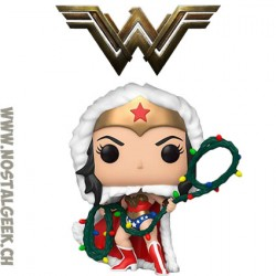 Funko Pop DC Holidays Wonder Woman with String Light Lasso Vinyl Figure