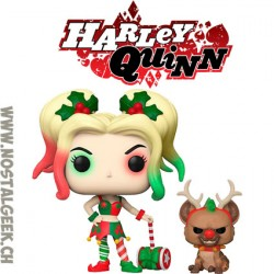 Funko Pop DC Holidays Harley Quinn with Helper Vinyl Figure