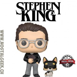Funko Pop Icons Stephen King with Molly aka the Thing of Evil Edition Limitée