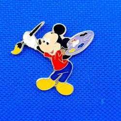 Pin's Mickey peintre d'occasion (Loose)