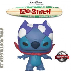 Funko Pop Disney Lilo & Stitch Superhero Stitch Exclusive Vinyl Figure
