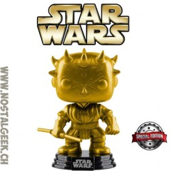 Funko Pop! Star Wars Darth Maul (Gold) Exclusive Vinyl Figure