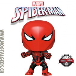 Funko Pop Marvel Spider-Armor MKIII Exclusive Vinyl Figure