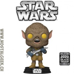 Funko Pop! Star Wars Chewbacca (Concept Series) Galactic Convention 2020 Exclusive Vinyl Figure