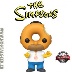 Funko Pop Cartoons The Simpsons Donut Head Homer Exclusive Vinyl Figure