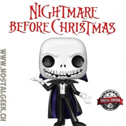 Funko Pop! Disney Nightmare before christmas Vampire Jack Skellington (Metallic) Exclusive Vinyl Figure