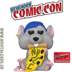 Funko Pop Icons NYCC 2020 Pizza Rat (Blue Beanie) Exclusive Vinyl Figure