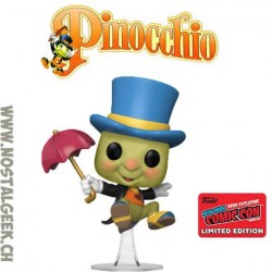 Funko Pop NYCC 2020 Pinocchio Jiminy Cricket (Umbrella) Edition Limitée