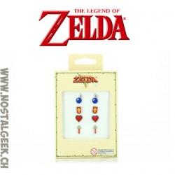 Zelda boucles d'oreilles lot de 4 paires
