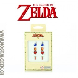 Zelda earrings set of 4 pairs