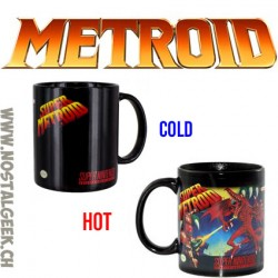Super Nintendo Super Metroid mug Heat Change x1