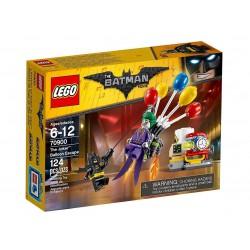 LEGO - 70900 Batman Movie : L'évasion en Ballon du Joker Damaged box