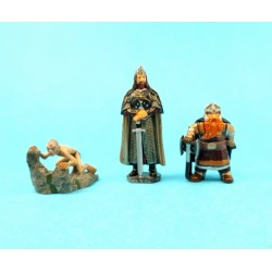Lors of the Rings set of 3 second hand figure (Loose)