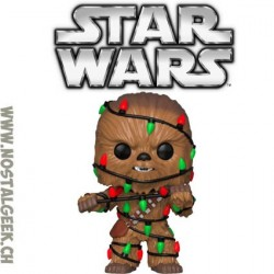Funko Pop! Star Wars Chewbacca (Lights) Christmas Vinyl Figure