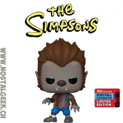Funko Pop NYCC 2020 The Simpsons Werewolf Bart Exclusive Vinyl Figure