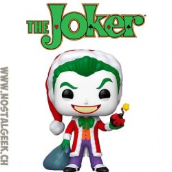 Funko Pop DC Holiday The Joker as Santa