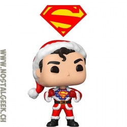Funko Pop DC Holiday Superman in Holiday Sweater Vinyl Figure