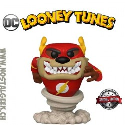 Funko Pop DC Looney Tunes Taz as The Flash Exclusive Vinyl Figure