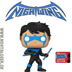 Funko Pop NYCC 2020 DC Nightwing (Escrima Sticks) Exclusive Vinyl Figure