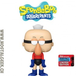Funko Pop NYCC 2020 Spongebob Barnacle Boy Exclusive Vinyl Figure
