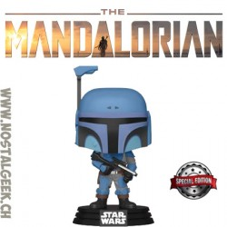 Funko Pop Star Wars The Mandalorian Death Watch Mandalorian (No Stripes) Exclusive Vinyl Figure