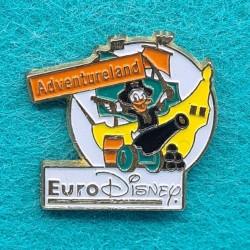 Disney Euro Disney Adventureland second hand Pin (Loose)