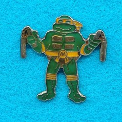 Pin's Tortues Ninjas Michelangelo d'occasion (Loose)