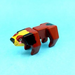 Mattel 1985 DoubleDooz Block Dog second hand figure (Loose)