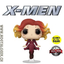 Funko Pop Marvel Jean Grey (Levitating) GITD Exclusive Vinyl Figure
